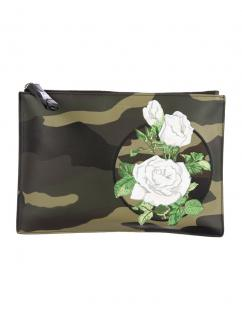 Dior  Homme Camouflage Pouch Clutch Green/Black/White