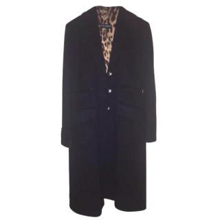 Dolce & Gabbana Cashmere Blend Coat