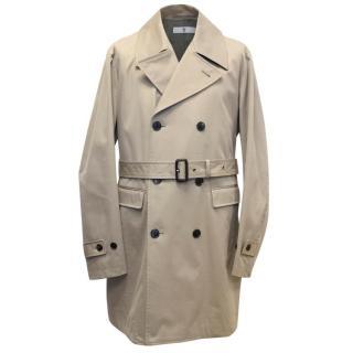 +J Men's Tan Trench Coat