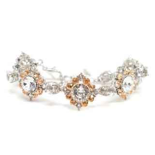 Jenny Packham Flower Crystal Bracelet