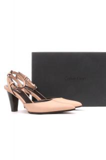 Calvin Klein Collection 'Katrin' Polished Calf Pumps