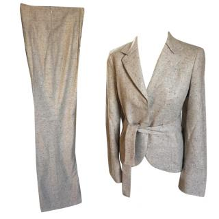 Akris trouser suit in 100% cashmere