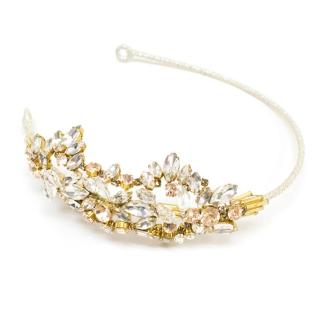 Jenny Packham Crystal & Clear Beaded Headband