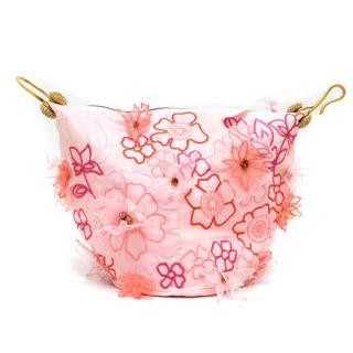 Jenny Packham Pink & Floral Tote