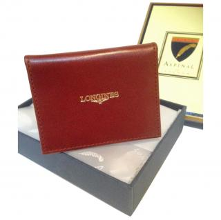 Aspinal Longines Brown Card Wallet