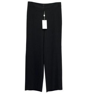 Armani Collezioni Women's Black Trousers