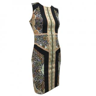 BCBG Maxazria printed dress