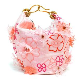 Jenny Packham Pink & Floral Baby Tote