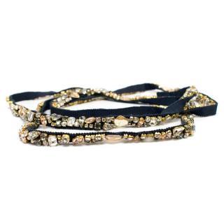 Jenny Packham Crystal Embellished Belt