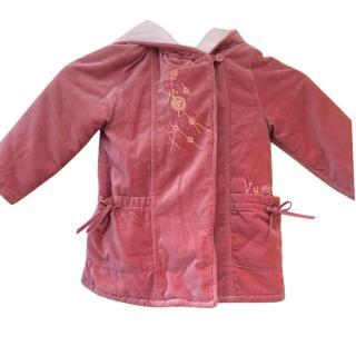 Kenzo girls fur lined winter coat 2-3 years