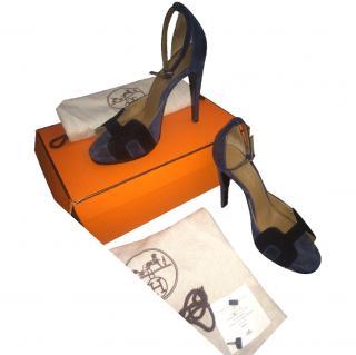 Hermes heeled sandals