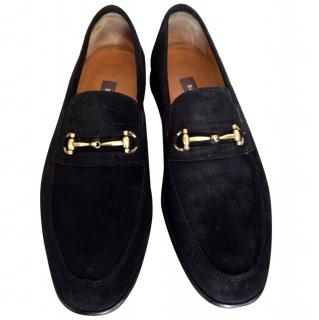 Bally men's  suede loafers