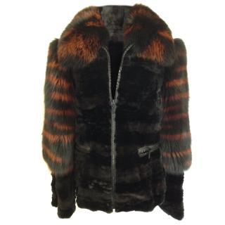 3Above fur jacket
