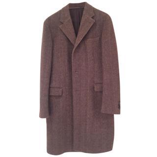 Prada Men's Winter Coat Wool/Alpaca Mix