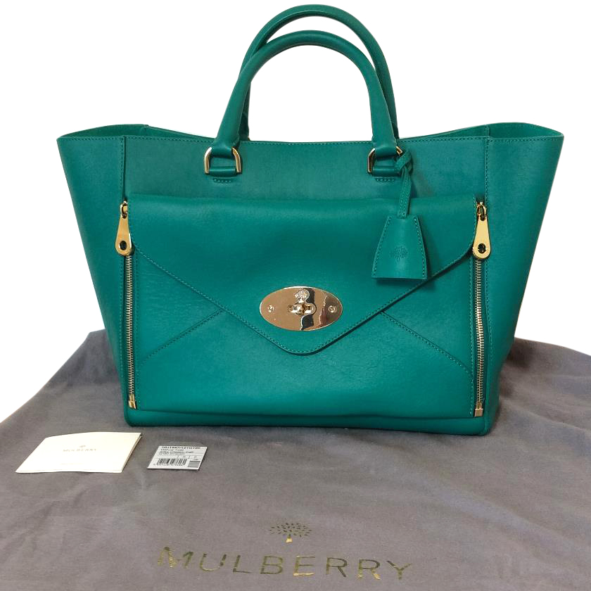 4fe8da1c16 Mulberry Emerald Willow Tote Large Size