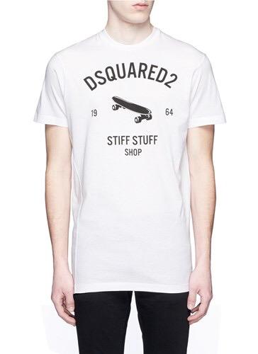 Dsquared2 Skateboard Print T-Shirt