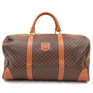 Celine Boston Bag Browns Macadam