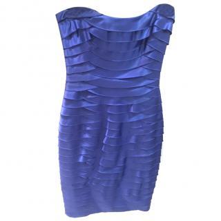 BCBG Max Azria Blue Bodycon Dress