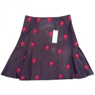 Bimba y Lola leather skirt