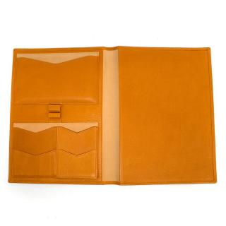 Smythson Tan Leather Organiser