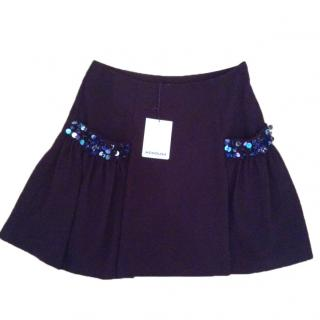 Manoush Embellished Mini Skirt