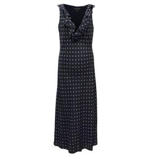 Ralph Lauren Navy Blue Maxi Dress