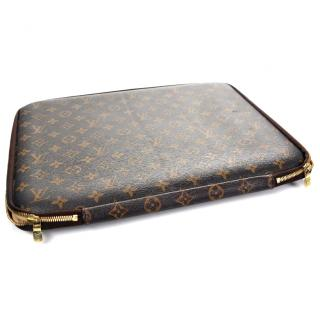 Louis Vuitton 15 Laptop case in monogram canvas