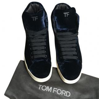 Tom Ford Velvet Russel Trainers