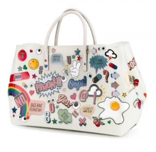 ANYA HINDMARCH Ebury Maxi All Over Wink Stickers