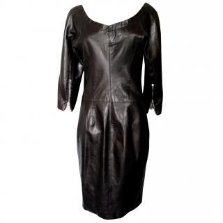 Dsquared leather dress Flash line
