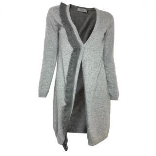 Blugirl-Blumarine long cardigan with pleated trim