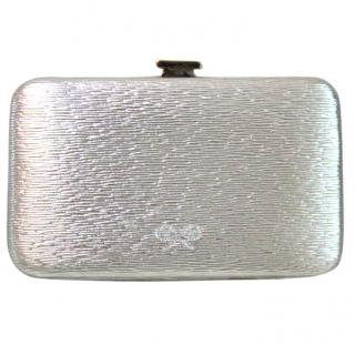 Anya Hindmarch Miami Silver leather Card Case