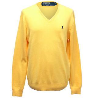 Polo Ralph Lauren Bright Yellow Jumper
