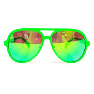 Italia Independent Neon Green Sunglass Aviators
