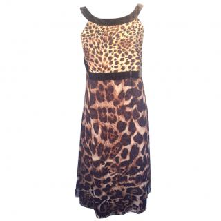 Gianfranco Ferre Animal Print Dress