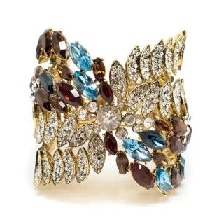 Jenny Packham Multicolour Crystal Cuff