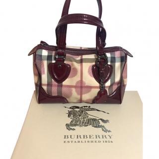 Burberry Mini Tote Bag