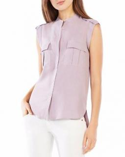 BCBGMAXAZRIA 100% Silk Top