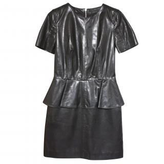 McQ by Alexander McQueen Goat's leather dress RRP gbp 1,000 It 40