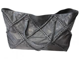 BNWT Bottega Veneta Black Leather Large Shopper B01623130S