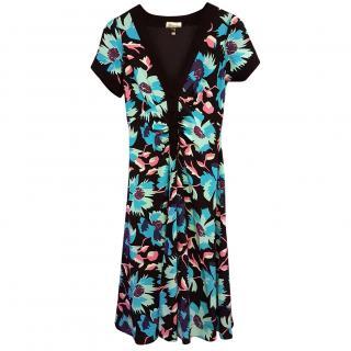 Temperley Silk Print Dress