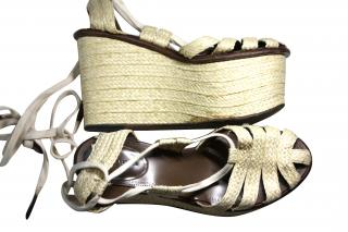 Bottega Veneta wedge sandals