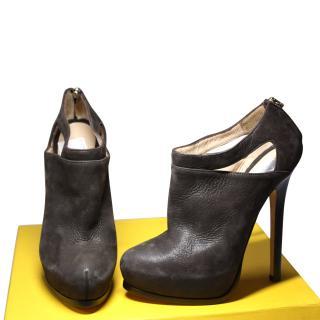 Fendi Taupe Heels 36.5