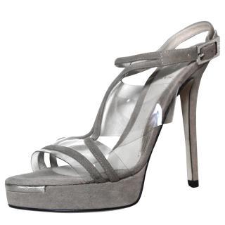 Fendi Beige Sandals It 36.5