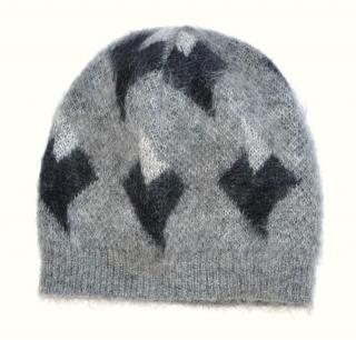 Saint Laurent mohair blend hat