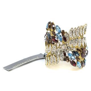 Jenny Packham Multicolour Crystal Cuff