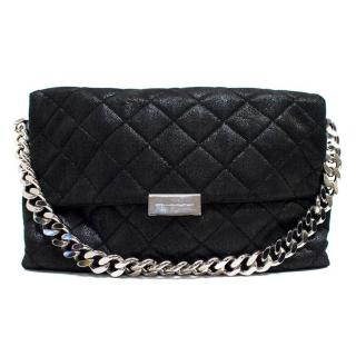 Stella McCartney Black Soft Beckett Medium Shoulder Bag
