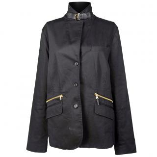 Ralph Lauren Cotton Black Jacket
