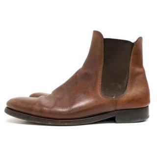 Ralph Lauren Brown Boots