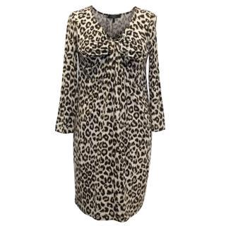 MaxMara Weekend Leopard Print Dress